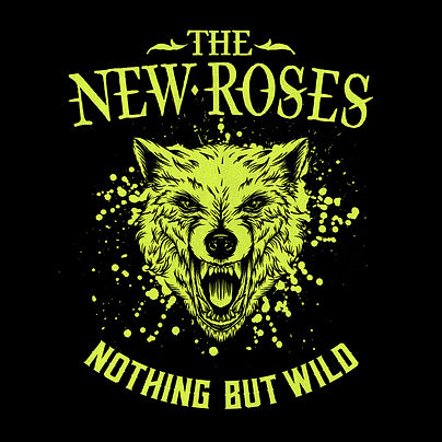 THE NEW ROSES Album Cover Nothing But Wi