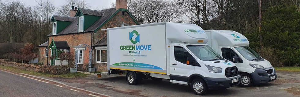 two removal vans in newton mearns