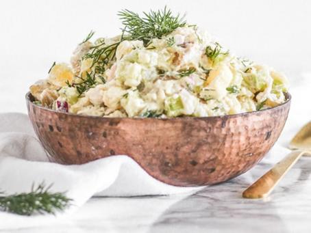 CBD Infused Vegan Potato Salad