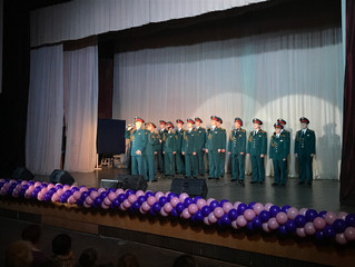 Международный женский день в Ижорском колледже