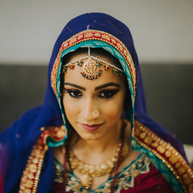 THE MEHNDI BRIDE