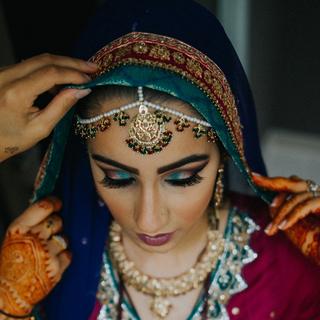 THE MEHNDI BRIDE