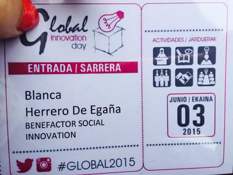 BUENA ONDA EN LA GLOBAL INNOVATION DAY Innobasque 2015