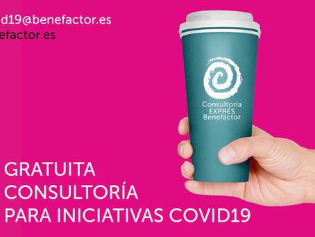 La Consultoría EXPRÉS de Benefactor Innovación Social te va a alegrar el día