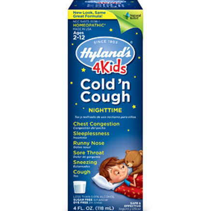 Hyland's 4 Kids Cold 'n Cough Nighttime