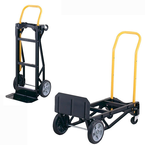 Harper Trucks 400 lb Capacity Convertible Hand Truck and Doll