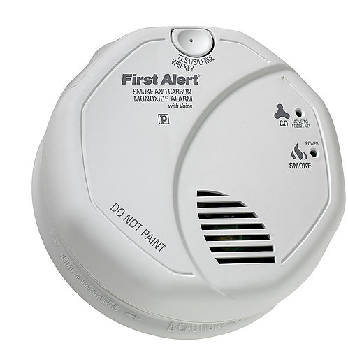 First Alert BRK SC7010BV Photoelectric Smoke and Carbon Monoxide Alarm