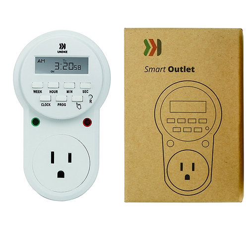 Timer Outlet 120V 7 Day Electrical Timer Light Switch