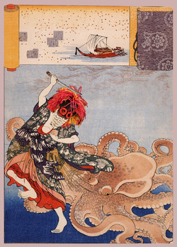 Princess Tamatori and the Octopus