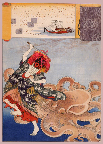 Princess Tamatori and the Octopus