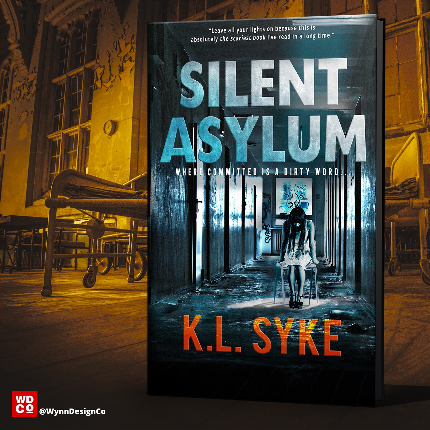 Book Cover Design - Silent Asylum - Wynn