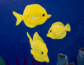 Yellow Tang Detail
