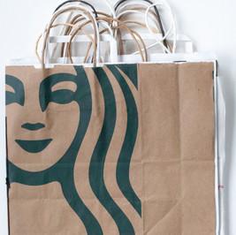 Large Shopping Bag Journal