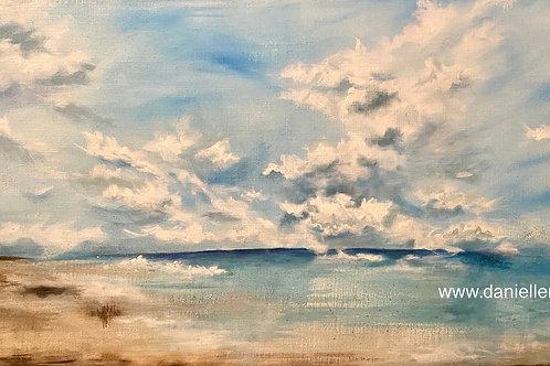 A Cloudy Beach Day