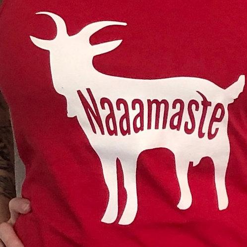 Naaamaste Goat Yoga T-Shirt