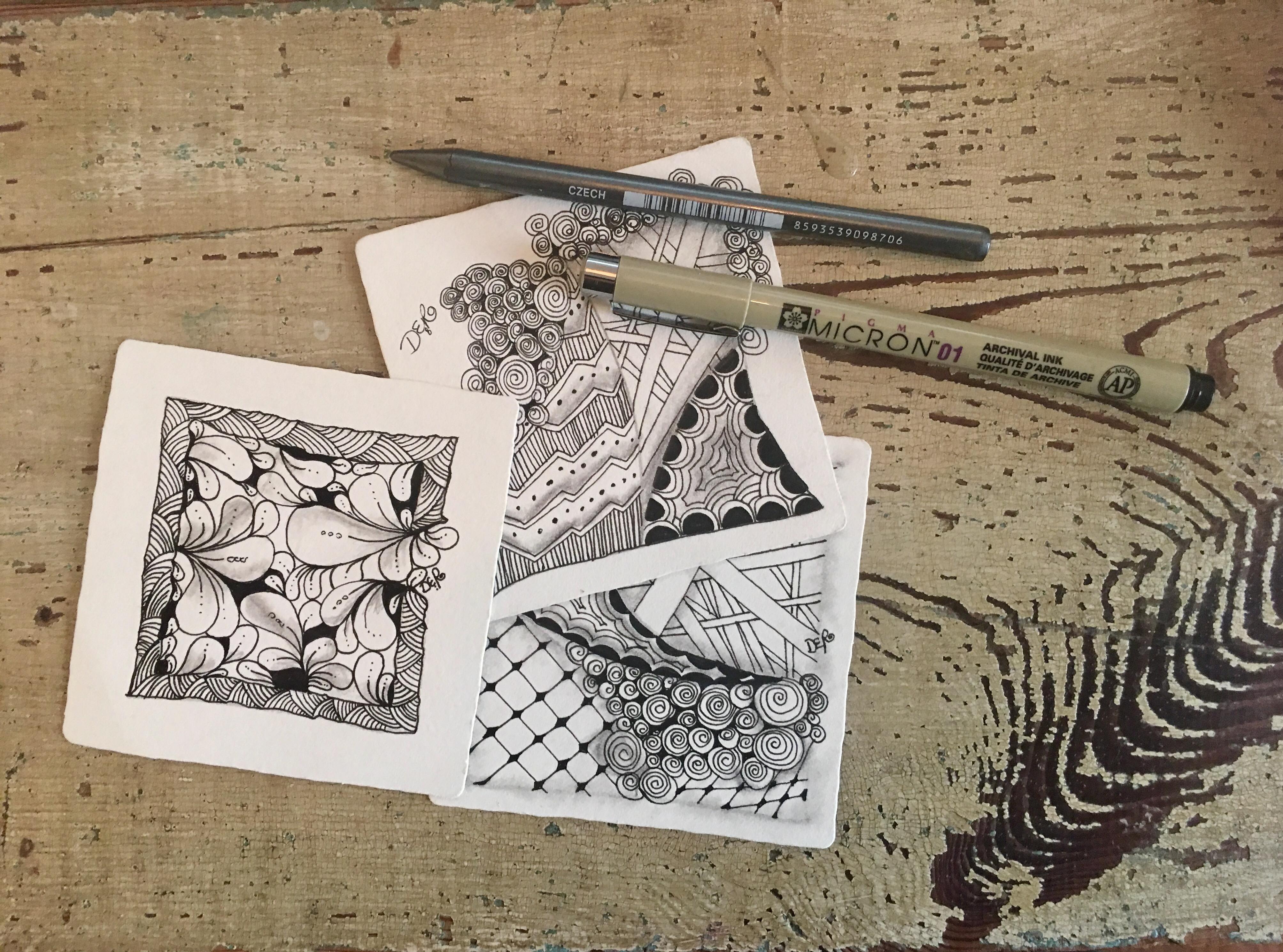 Zentangle Tiles