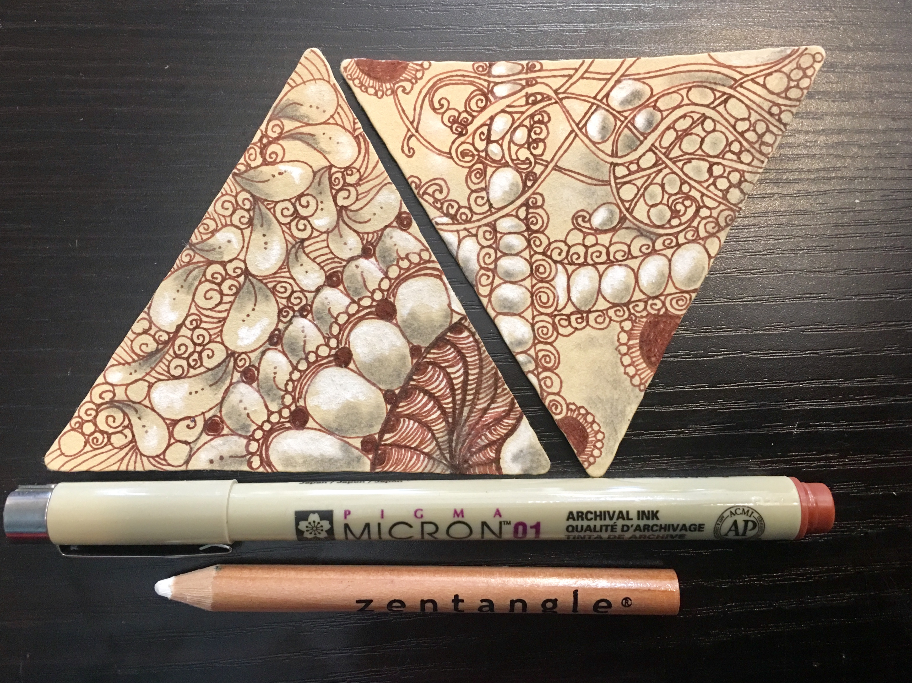 Zentangle 3Z Tile