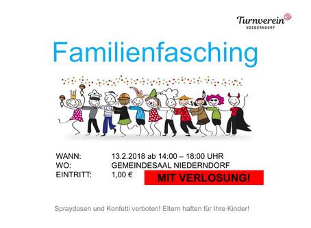 Familienfasching 13.02.2018