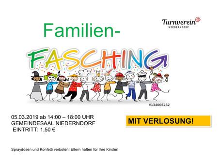 Familienfasching 05.03.2019