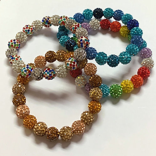 Multicolored Rainbow Rhinestones