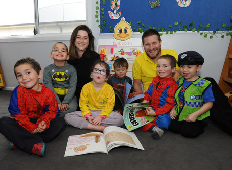 Visit to the Dymocks Children's Charity Duck Library Launch in Morwell