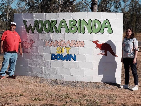 Visit to Woorabinda with the Cathy Freeman Foundation