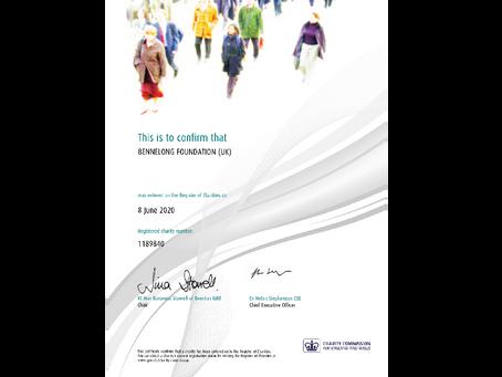 Establishment     of Bennelong Foundation UK