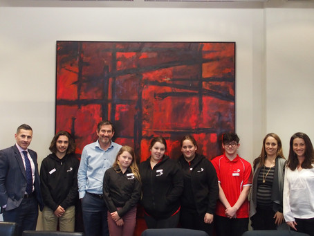 Ganbina Year 10 Leadership Program Visit to Bennelong House