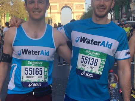 Raising Funds for Water Aid UK