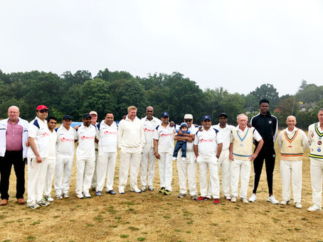 Our chairman, Jeff Chapman raises funds for Advanced Neurological Research at charity cricket match