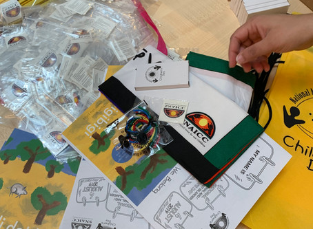 Volunteering with SNAICC for National Aboriginal and Torres Strait Islander Children's Day