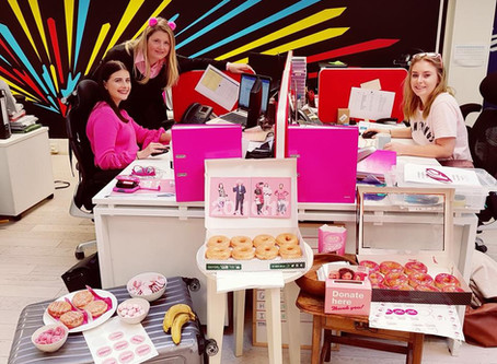 Wear it Pink with Aurora Media Worldwide