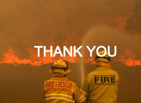 Responding to the Australian Bushfires