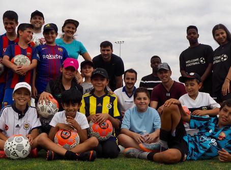 Welcome Football - Staff volunteering day
