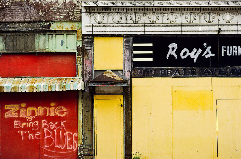 ROY'S ON BEALE ST., MEMPHIS, TENNESSEE 1983