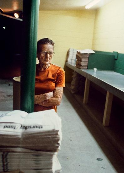 WORKING WOMAN AT 3 AM, ST. PETERSBURG, FL 1981