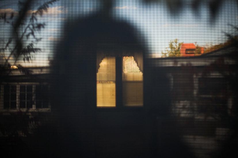 36 - UNTITLED, (SILHOUETTE/WINDOW)