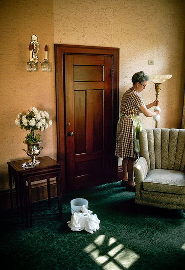 HOUSEKEEPER AT RECTOR II, WINONA, MINNESOTA 1976