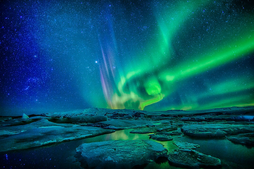 GLACIAL LAGOON #59 (ICELAND)