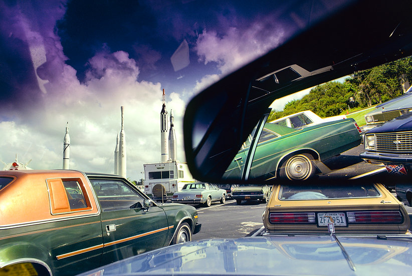 PARKING SPACE, KENNEDY SPACE CENTER, FLORIDA 1981