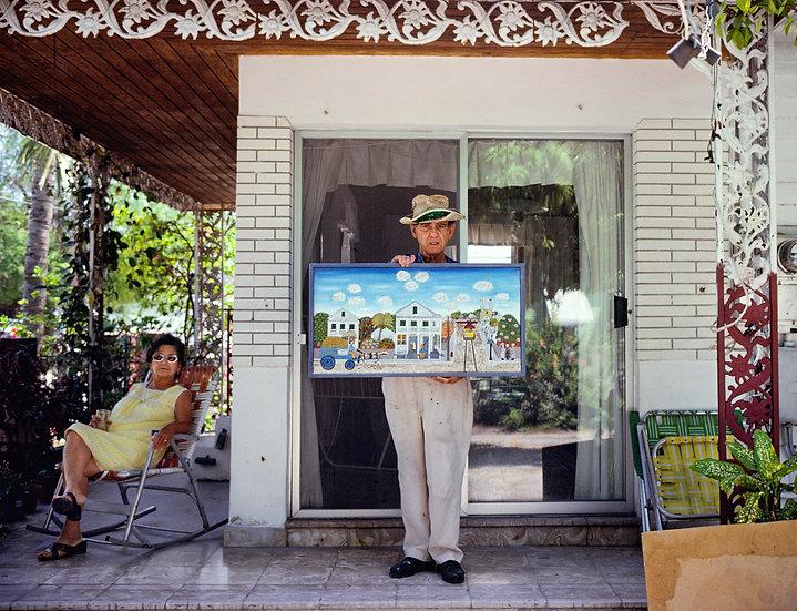 ARTIST'S VISION OF PARADISE, KEY WEST, FL1981