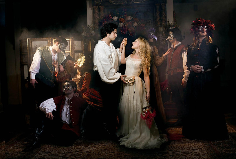 COMPOSITE IMAGE FOR ROMEO & JULIET