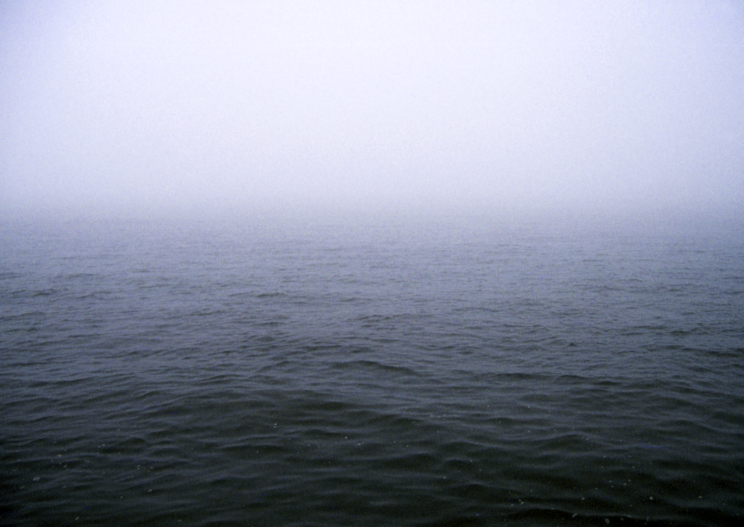 AT SEA IN A FOG