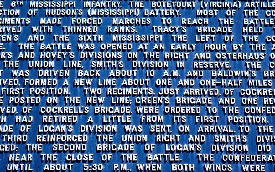 MONUMENT TO AN OLD BATTLE, VICKSBURG, MS 1983