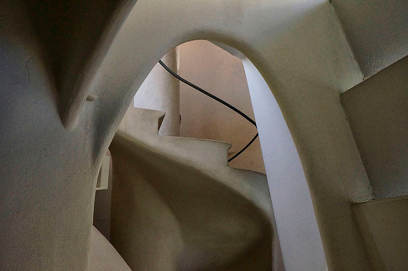 ARCHWAY IN GAUDI HOUSE