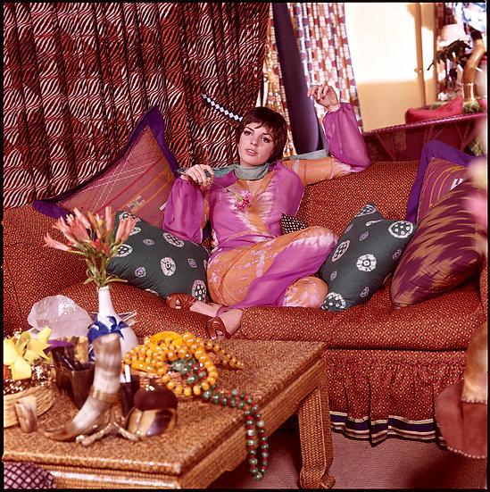 Liza Minnelli at the Halston Boutique