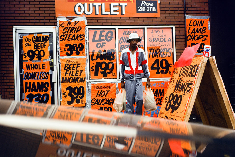 MEAT OUTLET, PITTSBURGH 1990