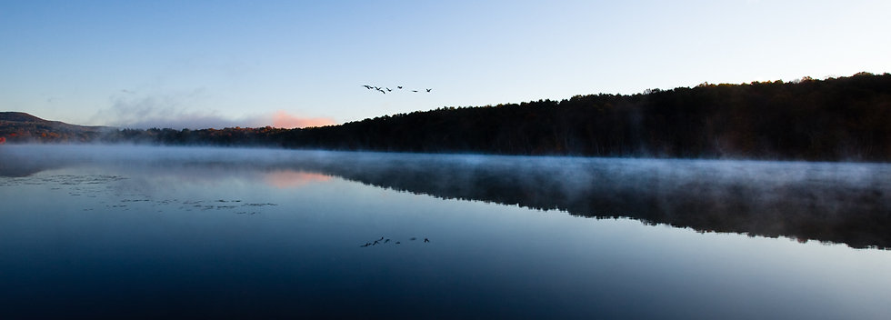 LONG POND DAWN