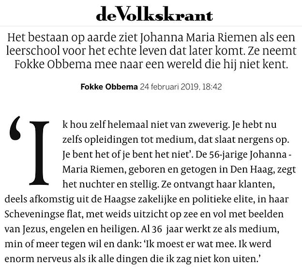 Interview Maria RIemen Volkskrant.png