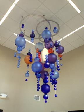 Vestibule Chandelier, with Toledo Museum of Art Glass Studio Team